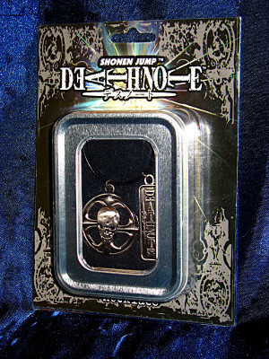 Death Note Necklace: Ryuk's Skull Belt Buckle