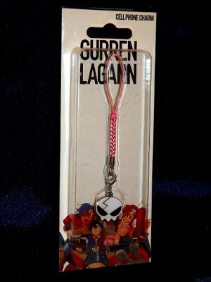 Gurren Lagann Cell Phone Charm: Yoko Littner's Hair Clip (Metal)