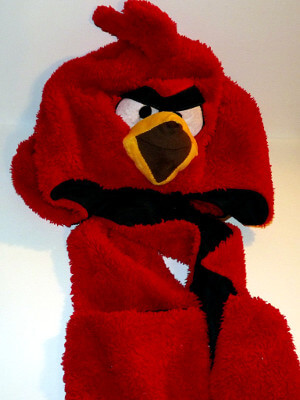 Angry Birds Mitten Hat: Red Bird