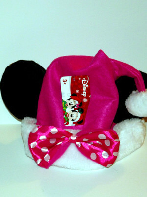 Disney Christmas Hat: Minnie Mouse (With Ears)