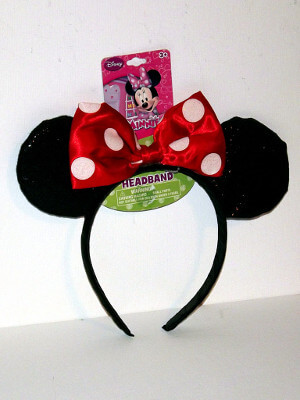 Disney Headband: Minnie Mouse Ears