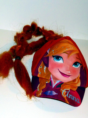 Disney's Frozen Baseball Cap: Anna, With Braids
