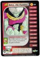 Dragon Ball Z  CCG Character Card: Spice, the Punisher