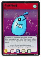 Neopets  Card: Fish Negg (Foil)