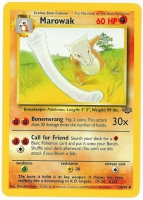 Pokemon TCG Card: Cubone Stage 1: Marowak from Jungle