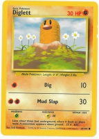 Pokemon TCG Card: Diglett from Base