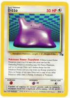 Pokemon TCG Card: Ditto from Fossil