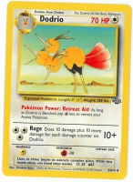 Pokemon TCG Card: Doduo Stage 1: Dodrio from Jungle