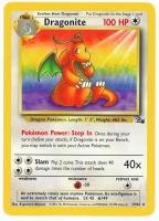 Pokemon TCG Card: Dratini Stage 2: Dragonite from Fossil