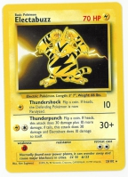 Pokemon TCG Card: Electabuzz from Base