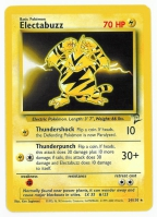 Pokemon TCG Card: Electabuzz from Base 2
