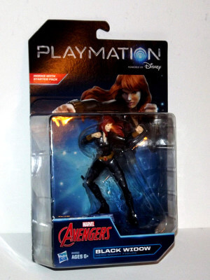 "Marvel Avengers Playmation Smart Figure: 4½"" Black Widow (Hero)"