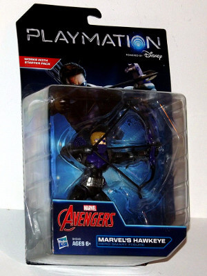 "Marvel Avengers Playmation Smart Figure: 6"" Hawkeye (Hero)"