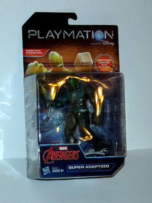 "Marvel Avengers Playmation Smart Figure: 5"" Super Adaptoid (Villain)"
