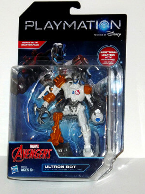 "Marvel Avengers Playmation Smart Figure: 5"" Ultron Bot (Villain)"