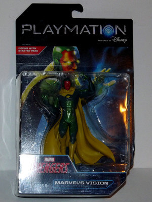"Marvel Avengers Playmation Smart Figure: 6"" Vision (Hero)"