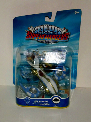 Skylanders Superchargers Figure: Jet Stream (Sky Vehicle)