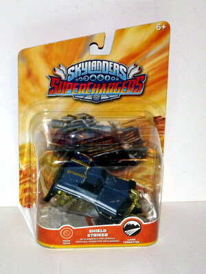 Skylanders Superchargers Figure: Shield Striker (Land Vehicle)