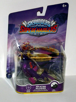 Skylanders Superchargers Figure: Splatter Splasher (Sea Vehicle)
