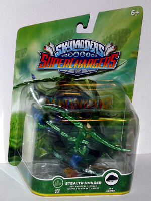 Skylanders Superchargers Figure: Stealth Stinger (Sky Vehicle)