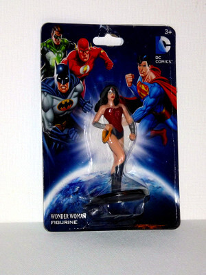 "DC's Wonder Woman Mini PVC Figure: 2¾"" Wonder Woman"