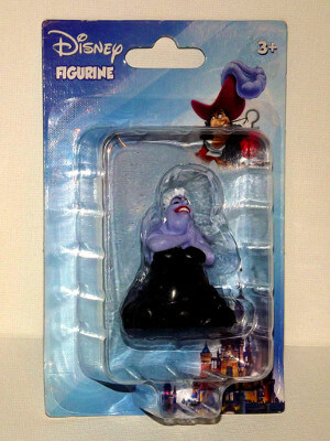 "Disney's Little Mermaid Mini PVC Figure: 2"" Ursula"