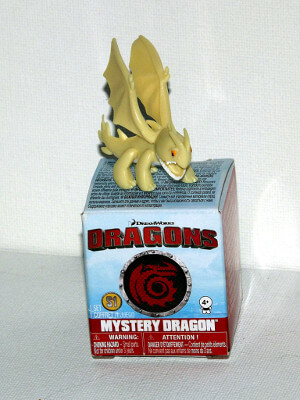 "Dragons Mini PVC Figure: 1½"" White Night Terror (PVC)"