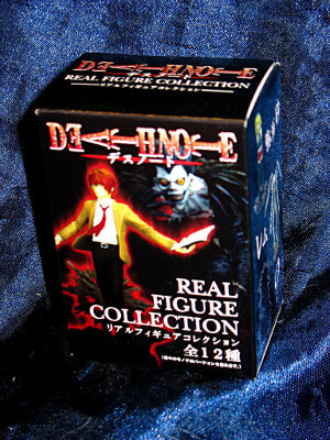 Death Note Trading Figure: Real Figure Collection: A Sealed Box