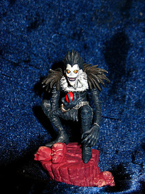 "Death Note Trading Figure: 3"" Real Figure Collection: Ryuk the Shinigami"