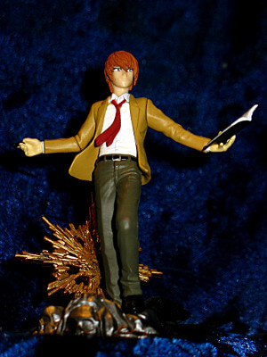 "Death Note Trading Figure: 3½"" Real Figure Collection: Yagami Light as Kira"