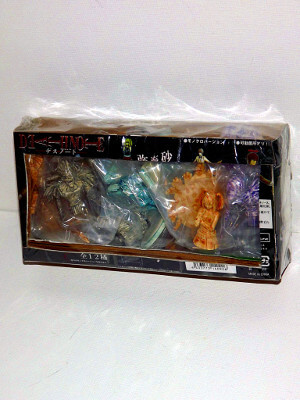 Death Note Trading Figures: Real Figure Collection: 5 Figure Statue Set