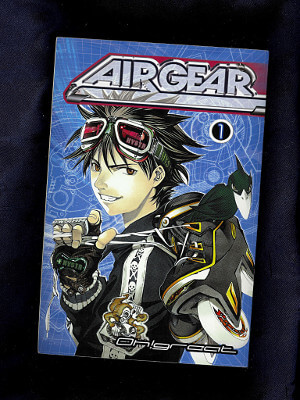 Air Gear Manga: Vol. 01, Wanna Fly?