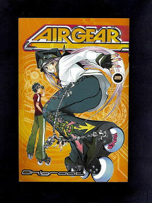 Air Gear Manga: Vol. 02, Girl Trouble!