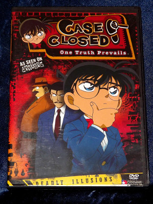 Case Closed DVD: Case 04, Deadly Illusions