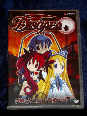Disgaea DVD: Vol. 01, The Netherworld Prince