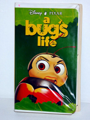 Disney VHS Tape: A Bug's Life