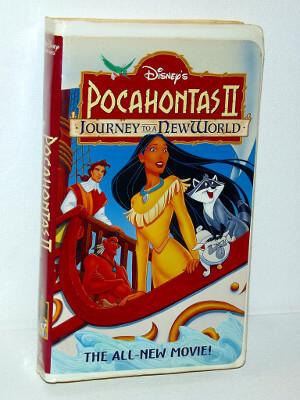 Disney VHS Tape: Pocahontas II: Journey to a New World