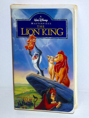 Disney VHS Tape: The Lion King