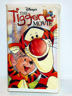 Disney's Winnie-the-Pooh VHS Tape: The Tigger Movie