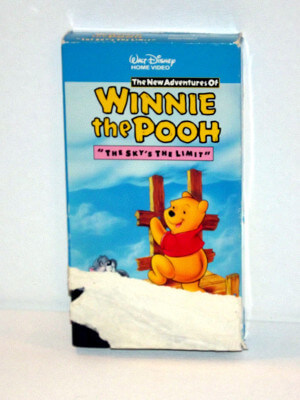 Disney's Winnie-the-Pooh VHS Tape: Vol. 08, The Sky's the Limit