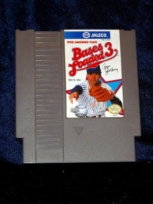 Nintendo Game: Bases Loaded 3