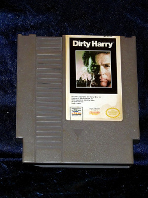 Nintendo Game: Dirty Harry