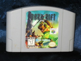 Nintendo 64 Game: Dark Rift