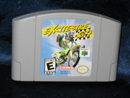 Nintendo 64 Game: Excitebike 64
