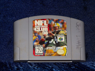 Nintendo 64 Game: NFL Quarterback Club 98
