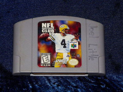 Nintendo 64 Game: NFL Quarterback Club 99