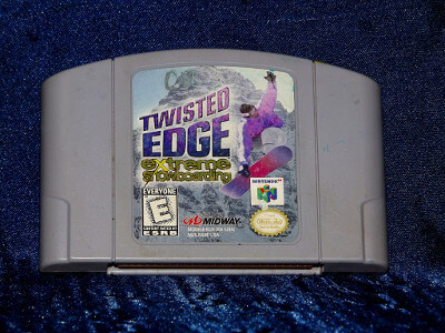 Nintendo 64 Game: Twisted Edge Extreme Snowboarding