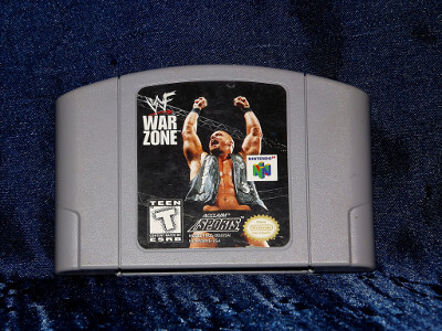 Nintendo 64 Game: WWF War Zone