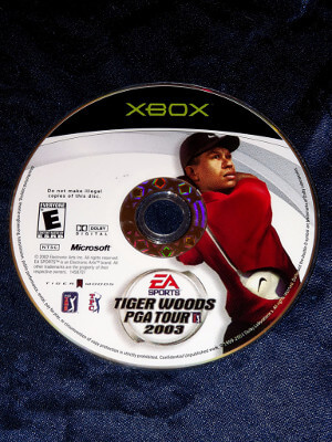 Xbox Game: Tiger Woods PGA Tour 2003