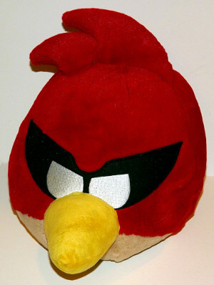 "Angry Birds Space Plushie: 16"" Red Bird (Jumbo)"